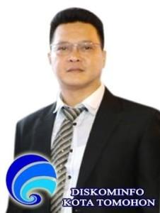 Hengkie Supit, Plt Kadis Kominfo Kota Tomohon