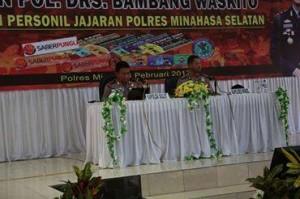 Irjen Pol Bambang Waskito Puji Layanan Berbasis Informasi Teknologi Polres Minsel