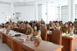Peserta Rapat Koordinasi Penyusunan LPPD