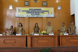 Rapat Koordinasi Penyusunan LPPD Kota Tomohon