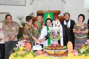 HUT ke-49 GMM Getsemani Lansot Wilayah Tomohon Tiga