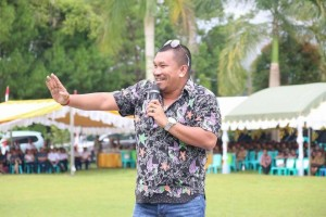 Mongol, Stand Up Komedi Kondang di Syukuran HUT Pertama Kepemimpinan EMAS