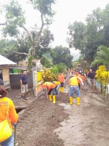Pemkab Minsel Bantu Korban Bencana di Kota Bitung