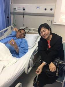 Jalani Medical Checkup, Bupati JWS Tetap Pantau Penanggulangan Bencana Minahasa