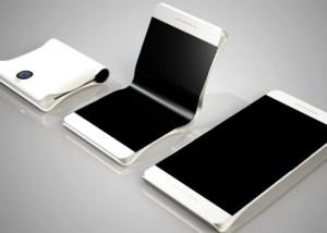 samsung, Smartphone lipat, Smartphone layar lipat, Smartphone layar fleksibel