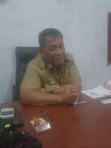 Kepala Dinas Perdagangan Minahasa, Moudy Lontaan S.Sos