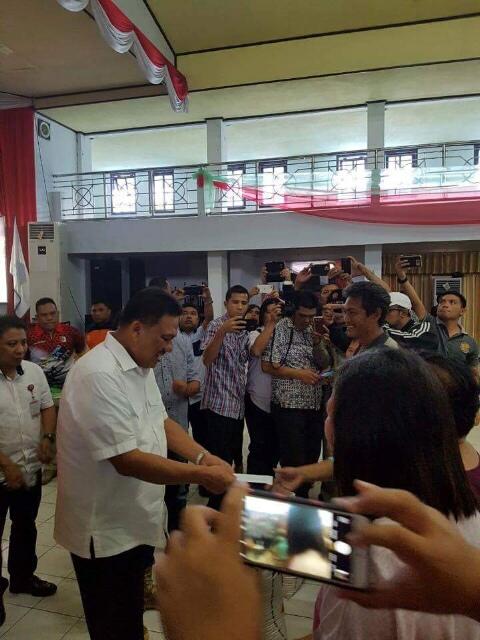 Walikota dan Wakil Walikota Bitung Apresiasi Kepedulian Semua Pihak Saat Bencana