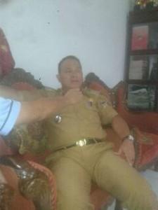 Camat Tondano Selatan, Robert Ratulangi SPd