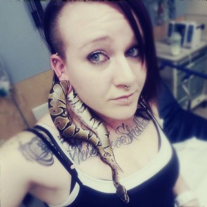 Ashley Glawe , Ball Python