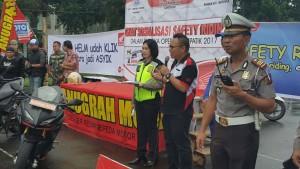 Sambutan Kepala  Cabang CV Anugerah Mulia Tomohon Graend Palar SPi