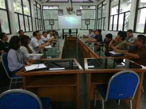 Pertemuan Jajaran Pemkot Tomohon dengan Taman Hutan Raya Ir H Juanda Bandung