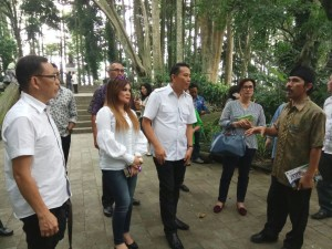 Peninjauan di Taman Hutan Raya Ir H Juanda Bandung