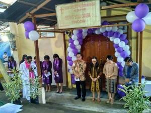 Peresmian Gedung Gereja KGPM Sola Gratia Tinoor
