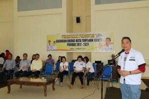 Pengurus Gabungan Bridge Kota Tomohon Periode 2017-2021 Dilantik