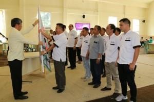 Pelantikan GBKT oleh Ketua Gabungan Bridge Sulut