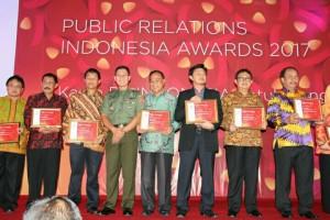 Para penerima penghargaan PRIA 2017