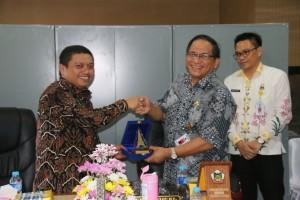 Sekretaris Kota Tomohon dan Wakil Bupati Gorontalo