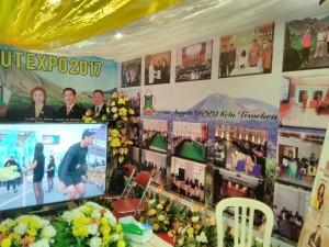 Penampilan Stand DPRD Tomohon di Legislatif Expo Sulut 2017