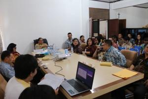 Rapat Evaluasi kesiapan penyusunan  LPPD