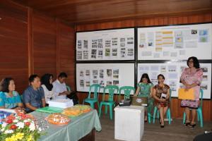 Asisten Kesejahteraan Rakyat Dra Truusje Kaunang saat Menerima Tim Verifikasi Kota Sehat