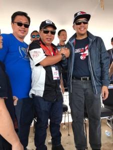James Sumendap di Kejuaraan Moto Cross Pangkal Pinang
