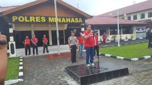 JWS, IVANSA, Pemkab Minahasa, TNI, Polres Minahasa, Minahasa, Jalan Sehat