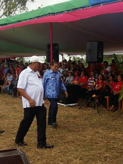 Gubernur Sulut, Olly Dondokambey, Bupati Minahasa, Wakil Bupati Minahasa, Jantje W Sajouw, Ivan Sarundajang