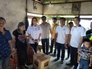 Peduli Sesama, PMI Minsel Bantu Warga Kurang Mampu di Kecamatan Maesaan