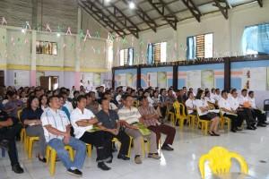 Peserta Sosialisasi PLP2IP di Balai Pertemuan Umum Kelurahan Wailan