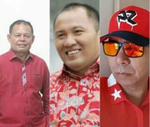 Pilkada 2018, Tiga Kader Partai PDI-P Mitra Berebut Dampingi JS