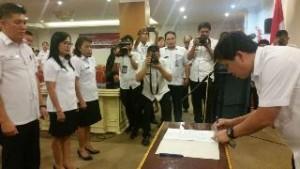 Kandouw: Pejabat Disdukcapil-KB Sulut Harus Langsung Kerja