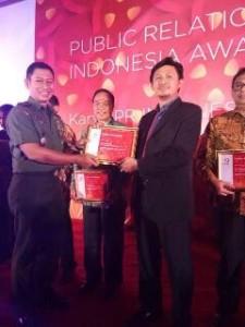 Sekkot Bitung Terima Penghargaan PRIA