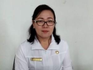 Sekretaris Dinkes Agustina Tangian SE