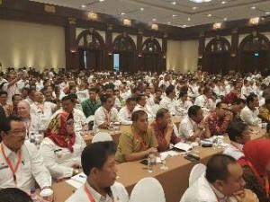 Bupati Minahasa Hadiri Rakornas Tim Terpadu Penanganan Konflik Sosial