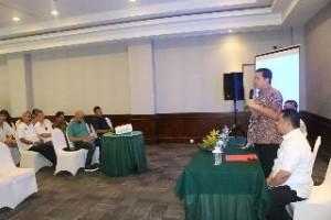 Wagub Sulut Steven Kandouw, ketika memberikan sambutan di kegiatan pengembangan pariwisata Sulut