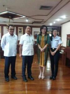 Bupati CEP Konsultasi di PT PELNI Soal Pengoperasian Kapal di Pelabuhan Amurang