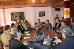 Kunjungan FKUB Banten dan Kota Tangerang di Kota Tomohon