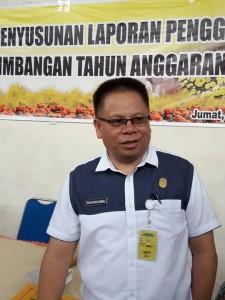 Kepala Badan Keuangan Daerah Drs Gerardus Mogi