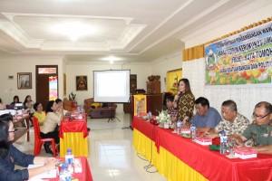 Rapat FKUB Tomohon di Pagoda Budhayana Kakaskaaen Tiga Tomohon Utara