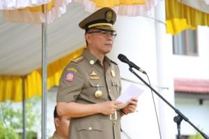 Wali Kota di HUT Sat Pol PP, Linmas dan Damkar