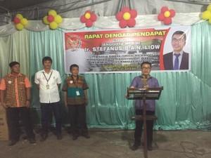 Senator SBAN Liow Gelar Rapat Dengar Pendapat (RDP) di Minahasa Selatan