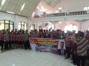 Peserta Sosialisasi Empat Pilar di Minahasa Utara