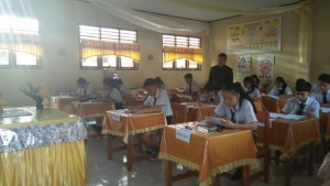 USBN SMPN 1 Tomohon sukses