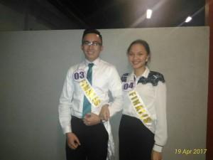 Joshua dan Kitara, Kontestan Putra-Putri Tomohon utusan Dinas PU