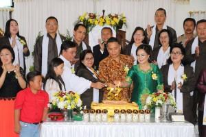 Perayaan HUT ke-33 Jemaat GMIM Kanaan Uluindano