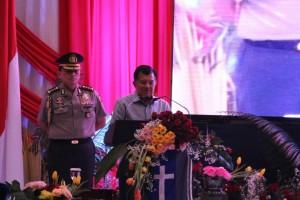 Wapres Jusuf Kalla saat membuka Pekan Kerukunan Nasional