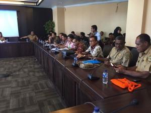 Komite III DPD-RI saat Kunker ke Mimika Papua