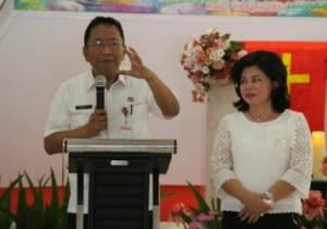 Silangen Ajak Anggota DWP Sulut Dukung Tugas Suami sebagai ASN