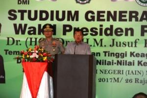 Wapres Jusuf Kalla Berikan Kuliah Umum di IAIN Manado