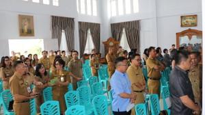 Peserta Rapat pemantapan HUT ke-20 KKP-GA di Kota Tomohon